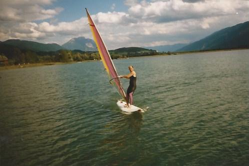 Surfen, hier in Südtirol