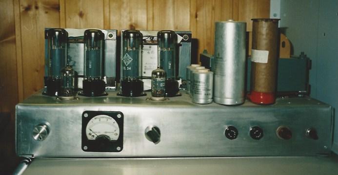 Stereoverstärker mit 4 x EL43